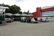 First Carwash in Wuppertal